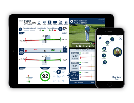 iPad App interface image